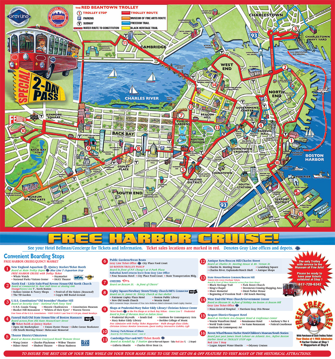 Old Town Trolley Map Old Town Trolley Boston Map | Time Zone Map