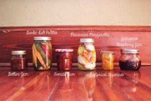 2012 Xmas Baskets - Jars