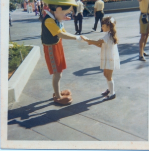 1971 Dagny at Disney the month it opened