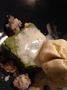 2014-05-09 Paris Au Passage pistachio cake