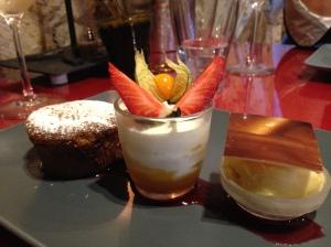 2014-05-12 Loire Valley Villandry L'Etape Gourmade dessert 2