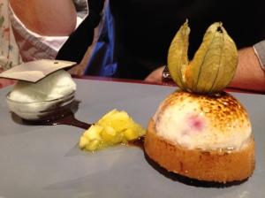 2014-05-12 Loire Valley Villandry L'Etape Gourmade dessert 3