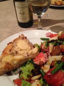 2014-05-18 Provence Apt dinner in