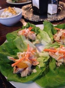 2015-07-02 Clarksville Miss Lucille's lettuce wraps