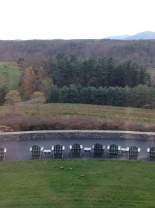 2015-11-06 Asheville Wedding Biltmore Estate Afternoon Tea View from the window