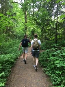 2016-05-03 Portland - Washington Park trail 2