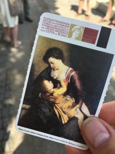2016-08-18 Rome Borghese Tour 0