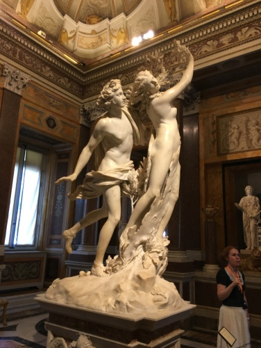 2016-08-18 Rome Borghese Tour Apollo and Daphne 2