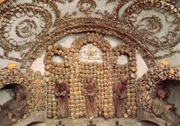 2016-08-19 Rome Catacombs Tour Capuchin Crypt 1