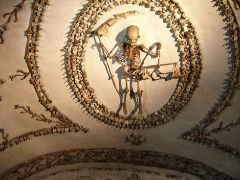 2016-08-19 Rome Catacombs Tour Capuchin Crypt 3
