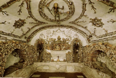 2016-08-19 Rome Catacombs Tour Capuchin Crypt 4