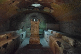 2016-08-19 Rome Catacombs Tour San Clemente Church Mithras Temple