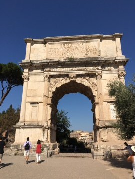 2016-08-20 Rome Colosseum Tour Arch of Constantine 2