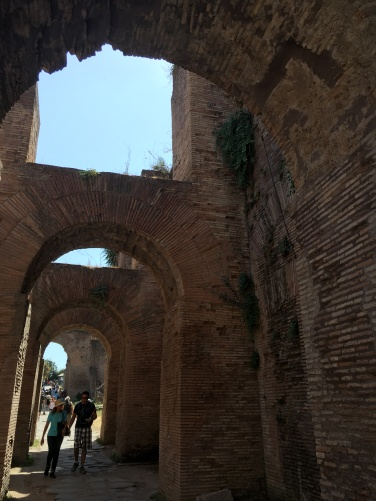 2016-08-20 Rome Colosseum Tour Palatine Hill ruins of Caligula's palace 1