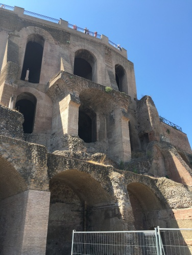 2016-08-20 Rome Colosseum Tour Palatine Hill ruins of Caligula's palace 3