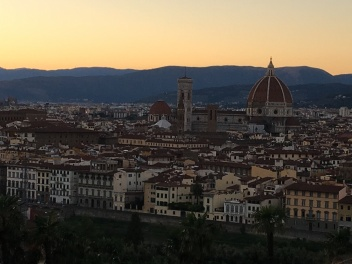 2016-08-22 Florence view from Michangelo Piazza 1