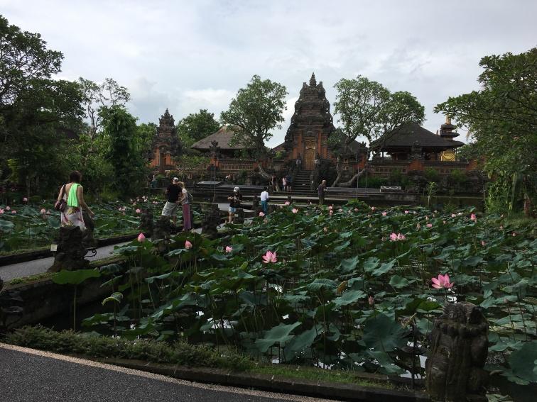 2017-03-25 Bali Ubud Lotus Pond Palace 1