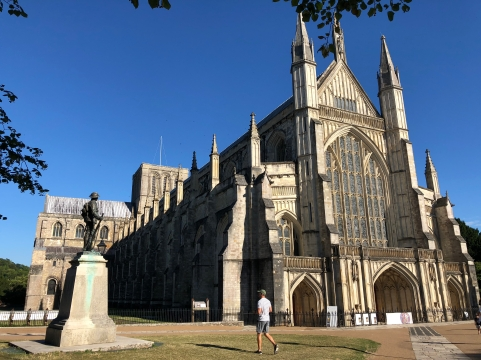 2018-08-05 Winchester Cathedral 1
