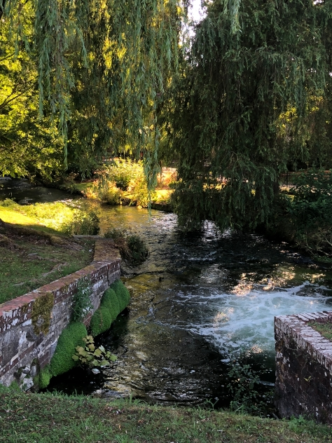 2018-08-05 Winchester walking path along the river 5
