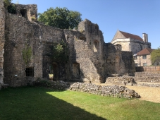 2018-08-06 Winchester Bishop's palace ruins 3